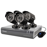 Swann Communications 4 Channel 720p Digital Video Recorder & 4 x PRO-A850 Cameras