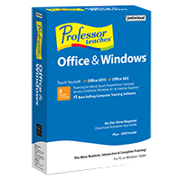 Individual Software Professor Teaches Office 2013/Office 365 and Windows (PC)