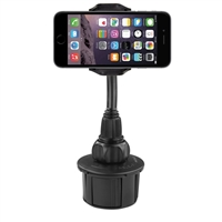 MacAlly Extra Long Adjustable Automobile Cup Holder Mount for Smartphones and most GPS