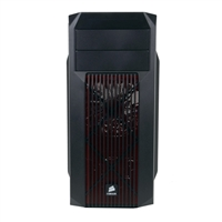 Corsair Carbide Series SPEC-02 Redshift Special Edition ATX Mid-Tower Computer Case - Black