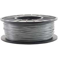 Inland 1.75mm Silver PLA 3D Printer Filament - 1kg Spool (2.2 lbs)