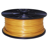 Inland 1.75mm Gold ABS 3D Printer Filament - 1kg Spool (2.2 lbs)