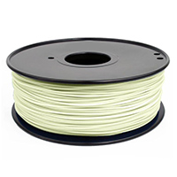Inland 1.75mm Glow in the Dark ABS 3D Printer Filament - 1kg Spool (2.2 lbs)