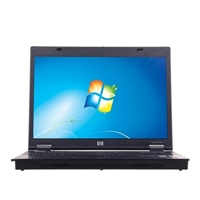 "HP 6710b Windows 7 Professional 15"" Laptop Computer Refurbished - Black"
