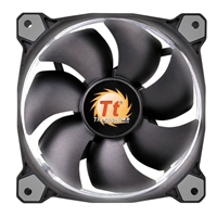 Thermaltake Riing 12 Series White LED 120mm High Static Pressure Case/Radiator Fan