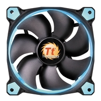 Thermaltake Riing 12 Series Blue LED 120mm High Static Pressure Case/Radiator Fan