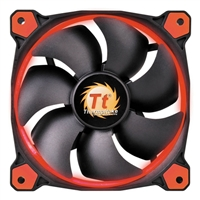 Thermaltake Riing 14 Series Red LED 140mm High Static Pressure Case/Radiator Fan