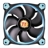 Thermaltake Riing 14 Series Red Blue 140mm High Static Pressure Case/Radiator Fan