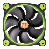 Thermaltake Riing 14 Series Green LED 140mm High Static Pressure Case/Radiator Fan