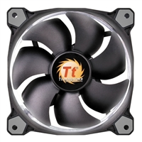 Thermaltake Riing 14 Series White LED 140mm High Static Pressure Case/Radiator Fan