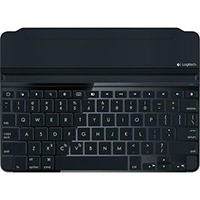 Logitech Ultrathin Keyboard Cover for iPad Air Refurbished - Space Gray