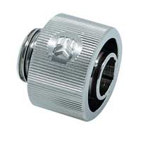 "EKWB G 1/4"" Straight Compression Fitting - Nickel"