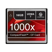 Centon 16GB Compact Flash 1000x Flash Memory Card CF