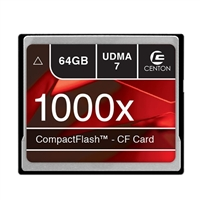 Centon 64GB 1000x Compact Flash Memory Card CF
