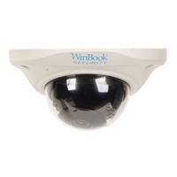 WinBook Security Hi-Resolution 900 TVL Security Dome Camera with 65' Night Vision