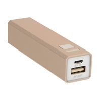 Inland 2,600 mAh Battery Charger - Gold