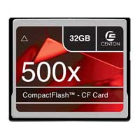 Centon 32GB 500X Compact Flash Memory Card