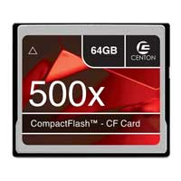 Centon 64GB 500X Compact Flash Memory Card CF