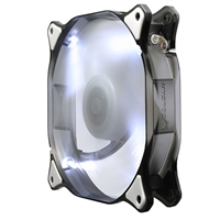 H.E.C. Cougar 14 cm Hydraulic 73 CFM 18 dBA White LED Fan