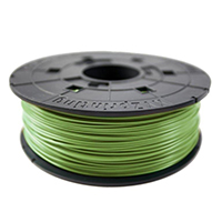 XYZprinting Bottle Green ABS Plastic Filament 600g