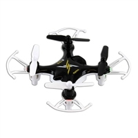 TenErgy Syma X12S Nano 6-Axis Gyro 4CH RC Quadcopter with Protection Guard - Black