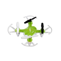 TenErgy Syma X12S Nano 6-Axis Gyro 4CH RC Quadcopter with Protection Guard - Green