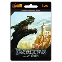 InComm Kabam $25 Dragons of Atlantis