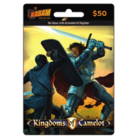 InComm Kabam $50 Kingdoms of Camelot