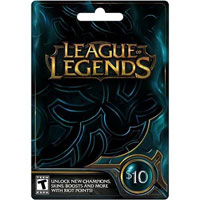 InComm Riot League of Legends $10