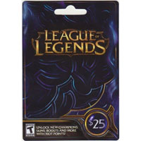 InComm Riot League of Legends $25
