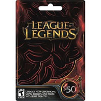 InComm Riot League of Legends $50