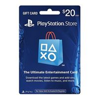 InComm PlayStation PS4 $20 Card