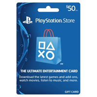 InComm PlayStation PS4 $50 Card