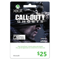 InComm Xbox Live $25 COD Ghost 2013
