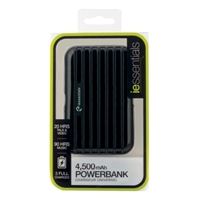 iEssentials 4,500mAh Rechargeable Backup USB Powerbank
