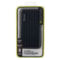 iEssentials 10,000mAh Rechargeable Backup USB Powerbank
