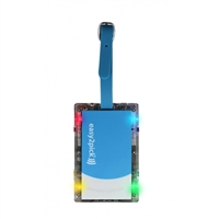 Naftali Inc. Flashing Luggage Tag Blue