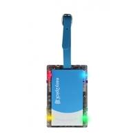 Naftali Inc. Flash Luggage Tag Blue