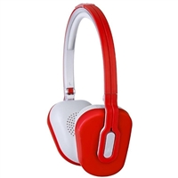 Altec Lansing MZX662 Foldable Headphones w/ Mic - Red