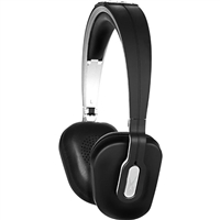 Altec Lansing MZX652 Foldable Headphones w/ Mic - Black