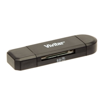Vivitar VIV-CR-38 SD and Micro SD card reader