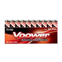 Vivitar Alkaline AAA Batteries V-40AAA-ALK