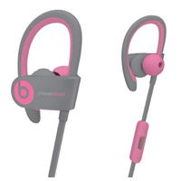 Beats by Dr. Dre powerbeats 2 Wireless Stereo Earbuds - Pink/Gray