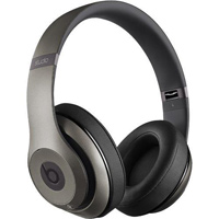 Beats by Dr. Dre Studio Wireless 2.0 On-Ear Headphones - Titanium