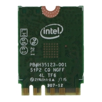Intel 7265 IEEE 802.11ac AC1200 Bluetooth 4.0 - Wi-Fi/Bluetooth Combo Adapter for Desktop Computer/Notebook