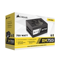 Corsair RM Series RM750i 80 Plus Gold Modular High Performance ATX Power Supply
