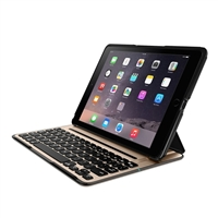 Belkin QODE Ultimate Pro Keyboard Case for iPad Air 2 - Black/Gold