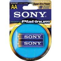 Sony AA Alkaline Battery 2 Pack