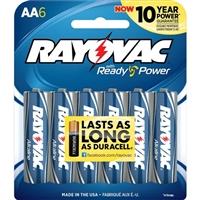 Rayovac Maximum Alkaline AA Batteries 6 Pack