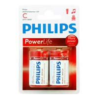 Philips C Alkaline Battery LR14P2B